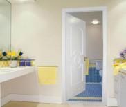 Какую дверь поставить в туалет и ванную?