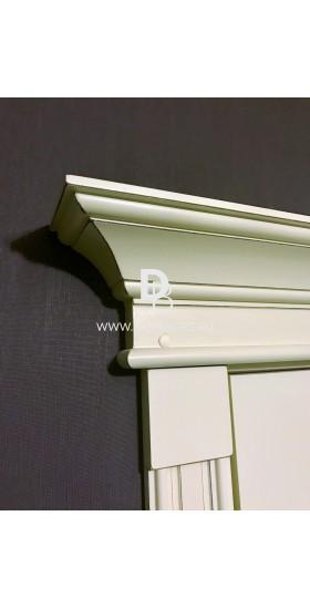 Межкомнатная дверь Е01 с патиной и эффектом старения Серия Е-classic