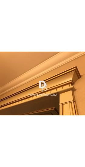 Межкомнатная дверь Е08 с патиной и эффектом старения Серия Е-classic