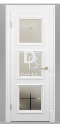Межкомнатная дверь Е10 Патина / Эффект старения