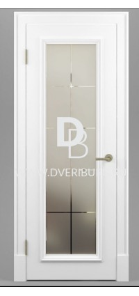 Межкомнатная дверь Е02 Патина / Эффект старения