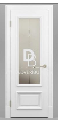 Межкомнатная дверь Е06 Патина / Эффект старения