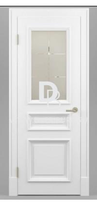 Межкомнатная дверь Е08 Патина / Эффект старения