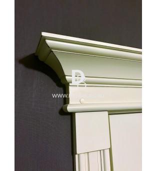 Портал Ес090/ Рс090 с розетками, карнизом и декоративной планкой