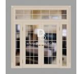 Двери с фрамугами РФ2 Слоновая кость
