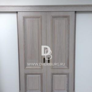 Межкомнатная дверь Е3 Серия E-classic Беленый дуб