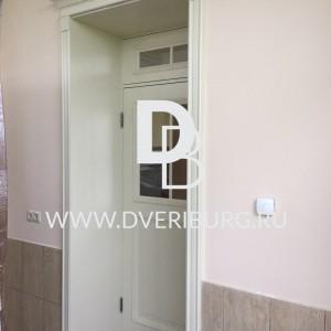 Межкомнатная дверь с фрамугой E03 Серия E-classic