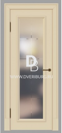 Межкомнатная дверь E02 Топленое молоко