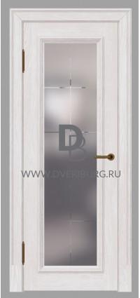 Межкомнатная дверь E02 Беленый дуб