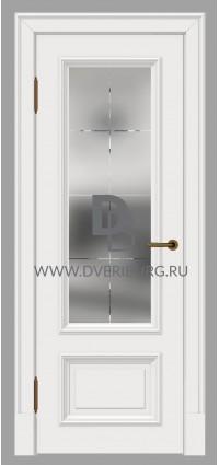 Межкомнатная дверь E06 Белый