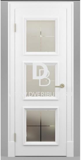 Межкомнатная дверь Е10 с патиной и эффектом старения Серия Е-classic