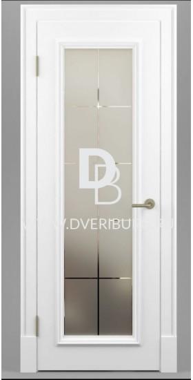Межкомнатная дверь Е02 с патиной и эффектом старения Серия Е-classic