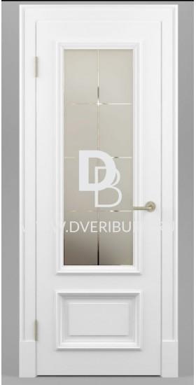 Межкомнатная дверь Е06 с патиной и эффектом старения Серия Е-classic