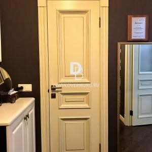 Межкомнатная дверь с эффектом старения Е7 Серия E-classic