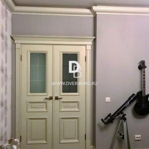 Межкомнатная дверь с эффектом старения Е8