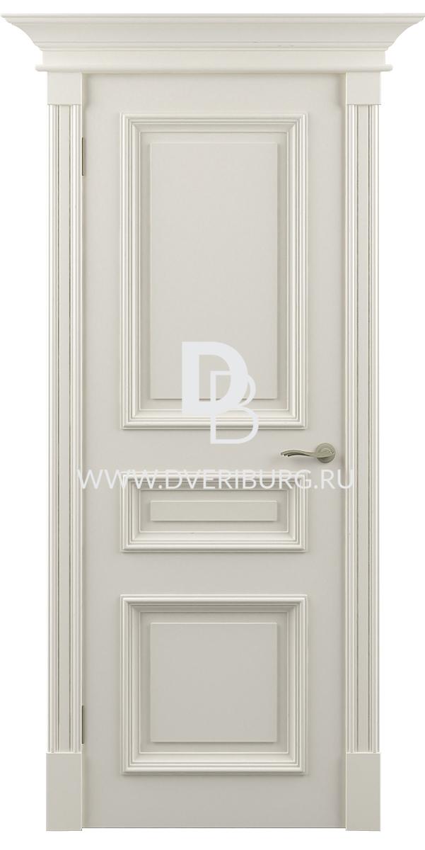 Межкомнатная дверь с патиной - фото